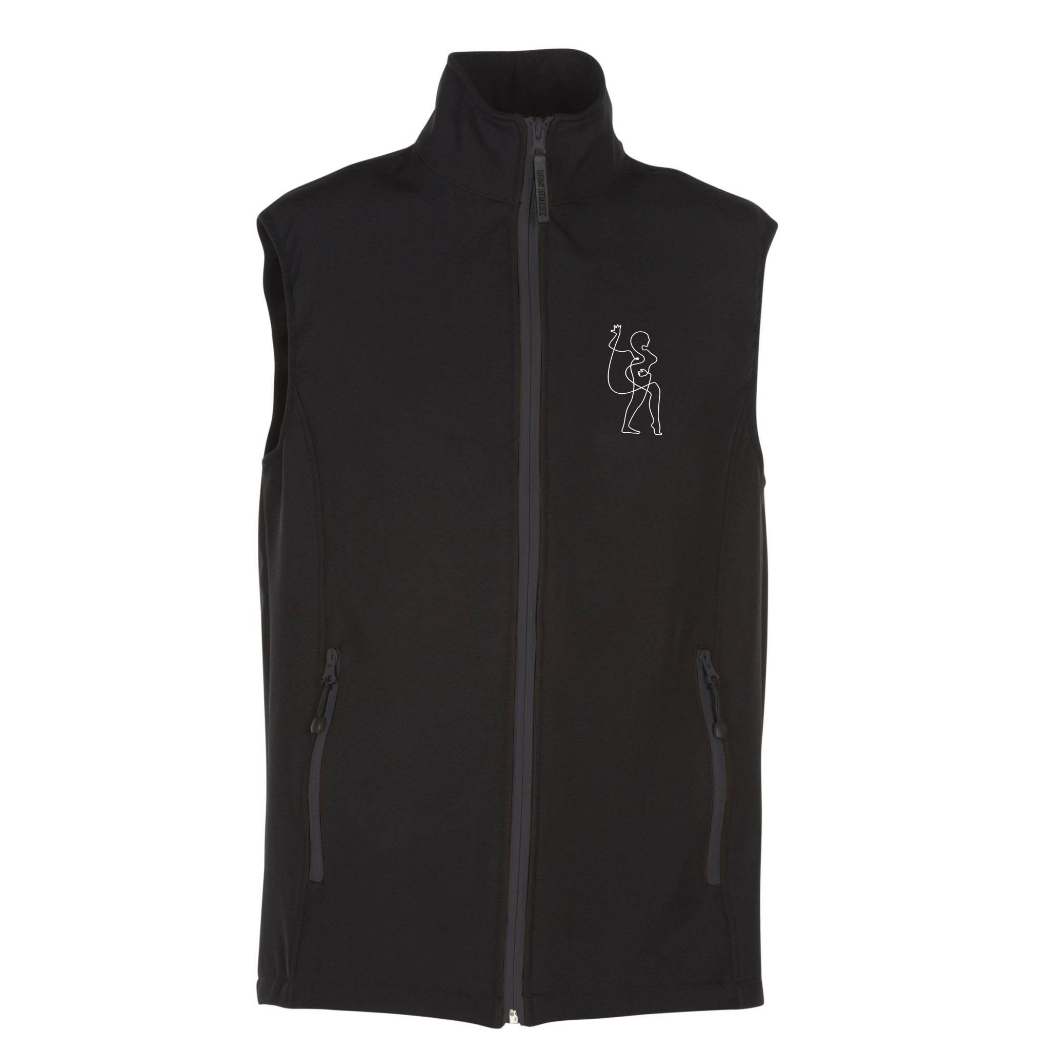 PK330 bodywarmer-soft-shell-2-couches avc broderie